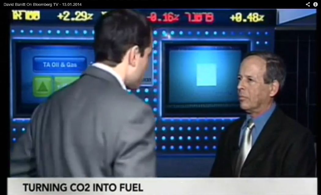 <i>LIVE INTERVIEW</i> - David Banitt on Bloomberg TV