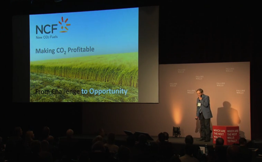 <i>FALLING WALLS CONFERENCE</i> NewCO2Fuels - David Banitt