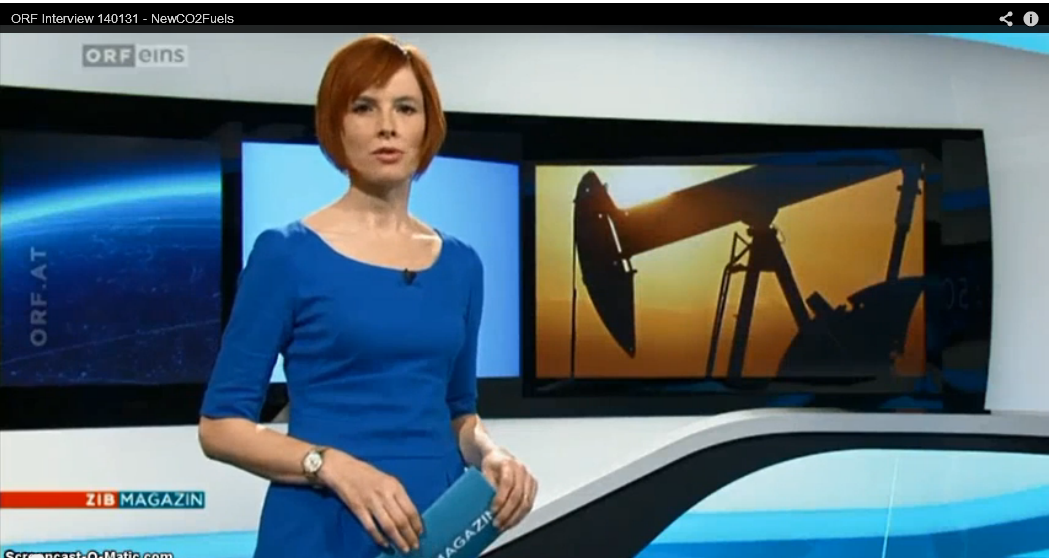 <i>ORF Interview</i> Jan. 31, 2014 - NewCO2Fuels