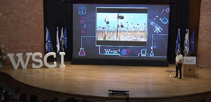 <i>The World Science Conference</i> - David Banitt presenting NewCO2 Fuels, Jerusalem  August  2015