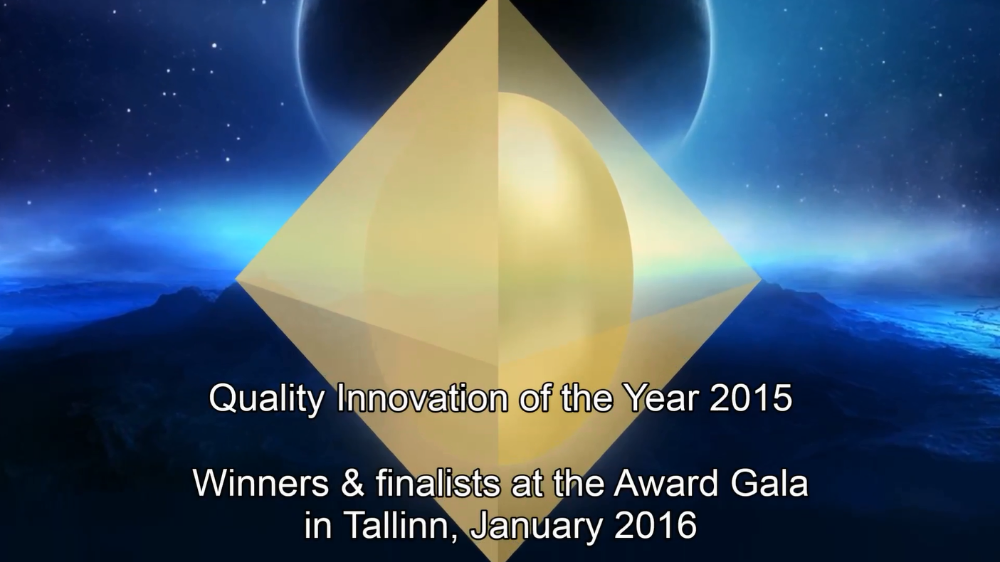 Quality Innovation Winners in Tallinn 2016